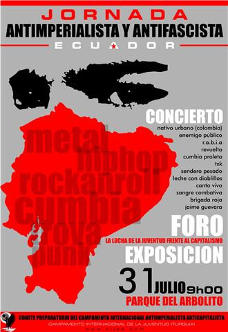 Jornada Antiimperialista y Antifascista