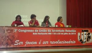 Congreso UJR de Brasil se solidariza con Marcelo Rivera