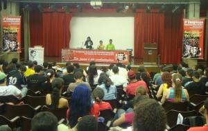 Congreso de la UJR de Brasil discute acciones de solidaridad con Marcelo Rivera