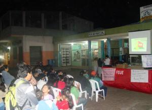 Galápagos se solidariza con Marcelo Rivera