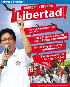 Marcelo símbolo de la resistencia juvenil